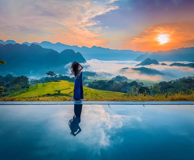 Tìm về chốn bình yên ở Thanh Hóa, mùa lúa chín ngả màu như 'biển vàng' - 8
