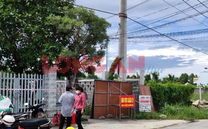 Tài xế Long An đi giao hàng ở TP.HCM dương tính SARS-CoV-2: Phong tỏa 34 hộ dân - 1