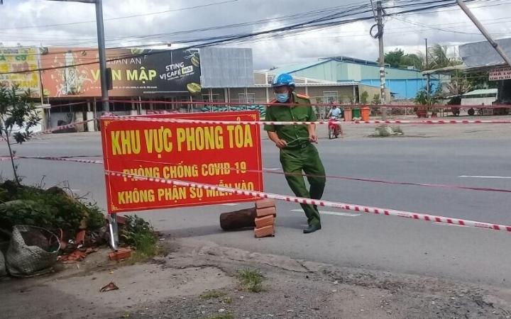 Phát hiện ca nghi mắc COVID-19, Tiền Giang phong tỏa 1 xã ở Cai Lậy - 1