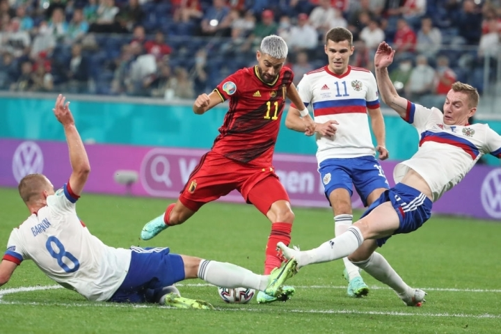 Kết quả EURO 2020: Lukaku ghi cú đúp, Bỉ thắng đậm Nga - 1