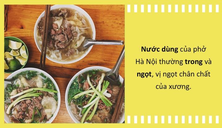 Phở Sài Gòn phải ăn kèm giá - rau thơm và sự khác biệt với phở Hà Nội, Nam Định - 1
