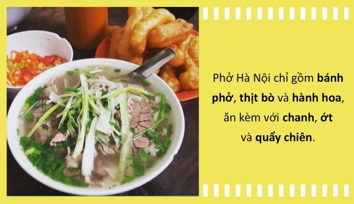 Phở Sài Gòn phải ăn kèm giá - rau thơm và sự khác biệt với phở Hà Nội, Nam Định - 2