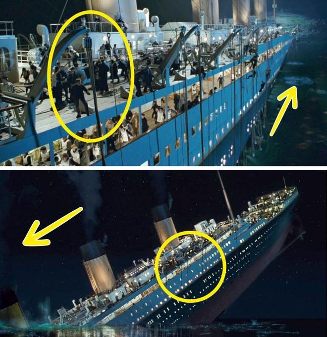 Khán giả 'bóc' 7 lỗi sai của  siêu phẩm điện ảnh Titanic - 6