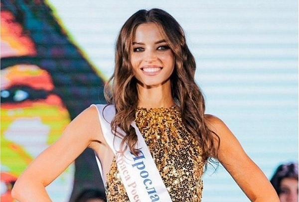 Ảnh: Nhan sắc tân Hoa hậu Trái đất Nga