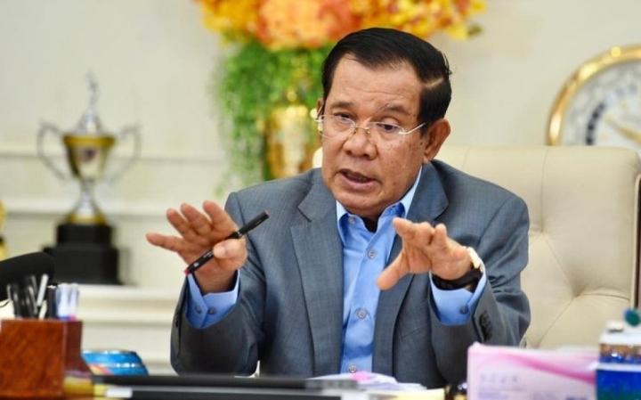 Thủ tướng Campuchia Hun Sen âm tính với SARS-CoV-2 sau 14 ngày cách ly