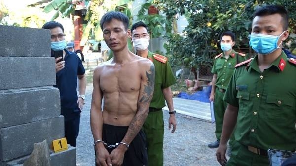 Đối tượng Trương Văn Tuân bị bắt quả tang tại nơi cất giữ ma túy.