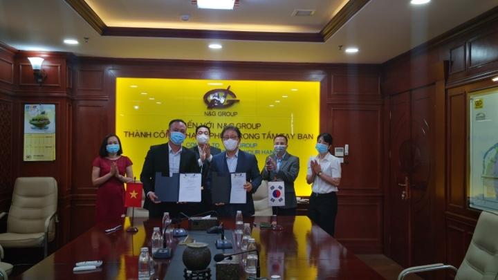 Tập đoàn N&G ký kết biên bản ghi nhớ với đối tác Hàn Quốc - 1