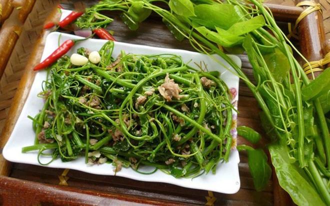 Rau bò khai - món ăn có tên lạ lùng nhưng lại là đặc sản của Lạng Sơn - 3