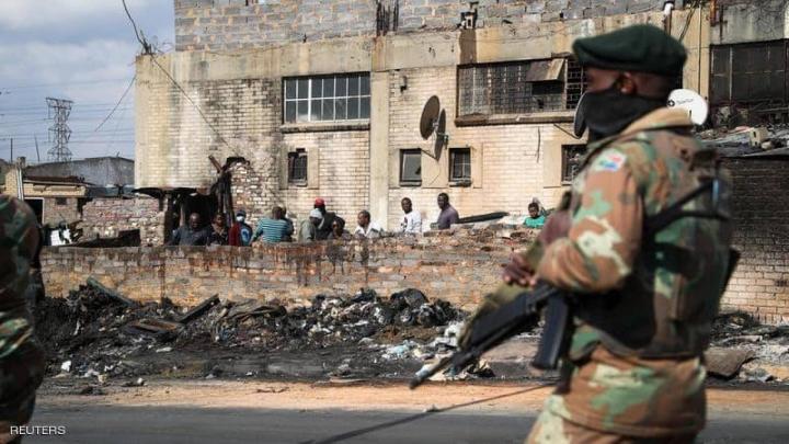 شورش های آفریقای جنوبی 276 کشته برجای گذاشت - 1