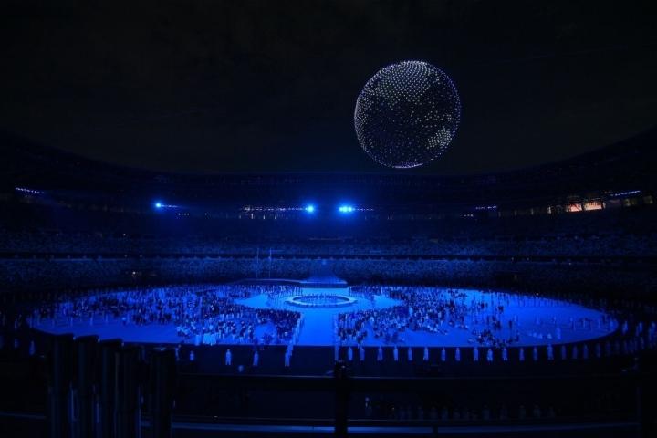 Olympic Tokyo 2020: Lễ khai mạc rực rỡ, Naomi Osaka thắp đài lửa - 8