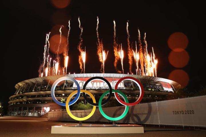 Olympic Tokyo 2020: Lễ khai mạc rực rỡ, Naomi Osaka thắp đài lửa - 1
