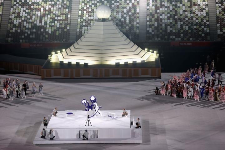 Olympic Tokyo 2020: Lễ khai mạc rực rỡ, Naomi Osaka thắp đài lửa - 10
