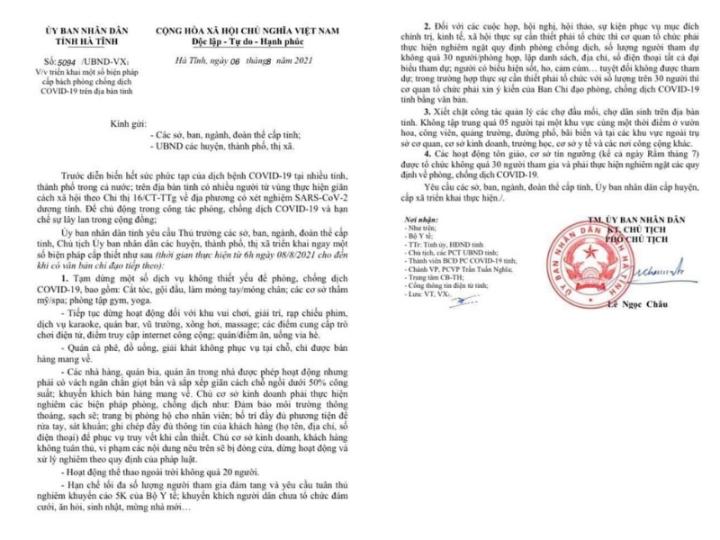 Diễn biến dịch ngày 6/8: Bộ Y tế ghi nhận 4.060 ca mắc Covid-19 ở TP.HCM; Hà Nội tiếp tục giãn cách toàn xã hội đến 6h ngày 23/8 - Ảnh 1.