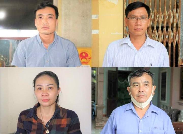 Bắt 4 quan xã khai khống hồ sơ để rút tiền Nhà nước - 2
