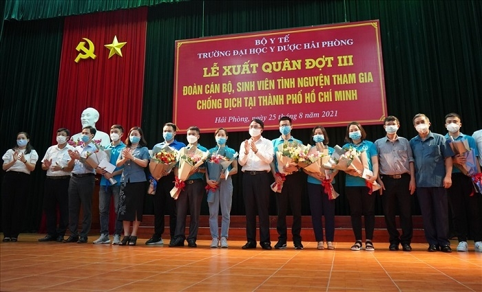 Hơn 500 bác sĩ, sinh viên tình nguyện vào miền Nam chống dịch - 1
