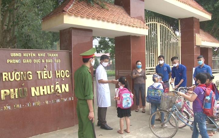 Cô giáo ở Thanh Hoá dương tính SARS-CoV-2, 23 học sinh lớp 1 phải cách ly - 1