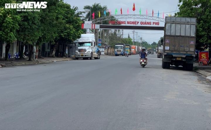 Quảng Ngãi phát sinh ổ dịch mới ở KCN Quảng Phú - 1