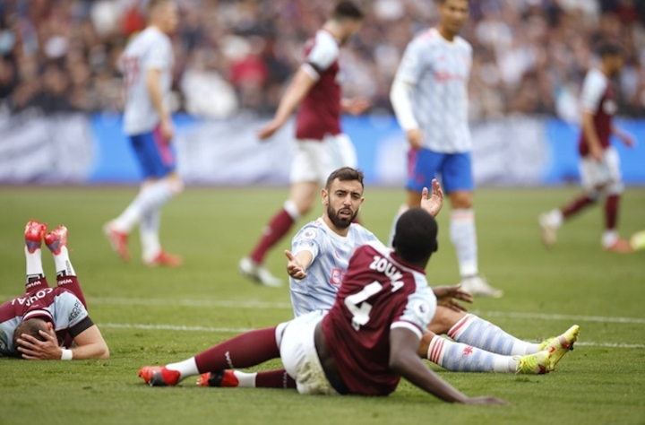 De Gea cản phạt đền phút bù giờ, Man Utd thắng kịch tính West Ham - 1
