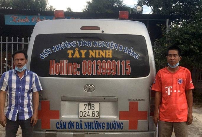 Tạm giữ tài xế xe cứu thương chở F0 rồi thả giữa đường ở Gia Lai - 1