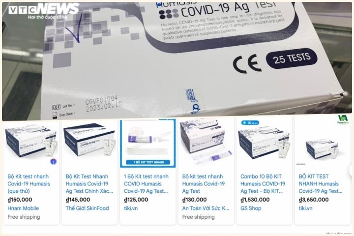 Test nhanh COVID-19 mua ở nước ngoài 1,5 USD: Giá thị trường Việt Nam thế nào? - 2