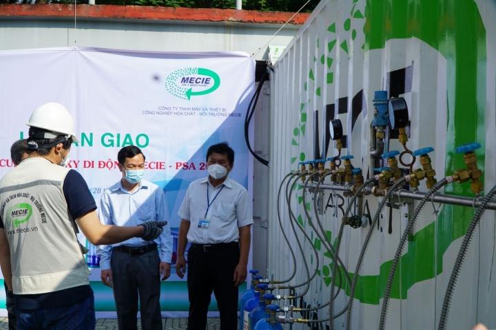 TP.HCM: Quận 1 tiếp nhận hệ thống sản xuất oxy y tế từ không khí tự nhiên - 2