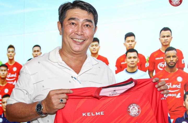 Ông Trần Minh Chiến làm HLV trưởng CLB TP.HCM