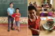 Học sinh lớp 3 đập lợn tiết kiệm ủng hộ miền Trung lũ lụt