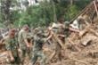 Bộ đội, công an xới đống bùn nhão tìm 14 người còn mất tích ở Trà Leng