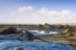 Lãnh địa núi lửa bùn khô cằn, đơn sắc tựa bề mặt sao Hỏa