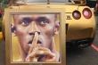 Làm giám đốc, Usain Bolt khoe siêu xe mạ vàng