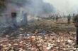Những hình ảnh đầu tiên vụ nổ pháo hoa kinh hoàng ở Trung Quốc