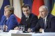 Merkel-Macron đề xuất gặp Putin, lãnh đạo các nước EU gạt phăng