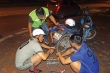Đội cứu hộ giao thông lái ô tô 10km vá 1 miếng săm miễn phí