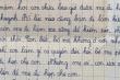 Rớt nước mắt với bức thư gửi mẹ ở xa của học sinh lớp 5