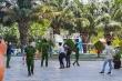 Công an kiểm tra lại hiện trường nơi TS Bùi Quang Tín rơi lầu thiệt mạng