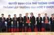 Thành lập Đại học Y Dược - Đại học Quốc gia Hà Nội