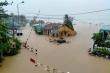 Tàu khách từ Hà Nội đến Đông Hà tạm dừng chạy vì mưa lũ