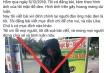 Đóng giả 'ăn mày mặt đen' tung lên mạng xã hội để câu like ở Gia Lai