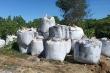 Xác minh hàng chục tấn chất thải lạ đổ ở vùng đồi núi Thanh Hóa
