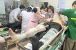 Sức khỏe các nạn nhân vụ rơi thang  tời, 11 công nhân thương vong ở Nghệ An
