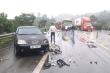 4 ô tô tông liên hoàn trên cao tốc Nội Bài - Lào Cai