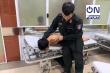 CĐV Nam Định xô xát với lực lượng an ninh, 2 chiến sĩ cảnh sát cơ động nhập viện