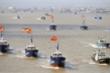 Tuần duyên Mỹ cảnh báo đội tàu cá hung hăng của Trung Quốc