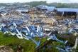 Hiện trường đổ nát, tan hoang sau vụ lốc xoáy san phẳng xưởng gỗ ở Vĩnh Phúc