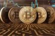 Bitcoin tiếp tục giảm giá, cách mốc 9.000 USD không xa
