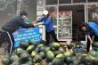 Thanh niên Hà Tĩnh 'giải cứu' dưa hấu, phát khẩu trang miễn phí cho người dân