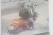Công bố hình ảnh kẻ đâm tài xế, cướp xe máy  ở TP.HCM