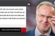Video: CEO Bayern Munich chỉ trích Liên đoàn bóng đá Đức