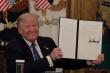 Ông Trump hé lộ bức thư để lại cho Tổng thống Biden