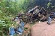 Xe tải lao xuống vực sâu ở Mộc Châu, 3 người thương vong